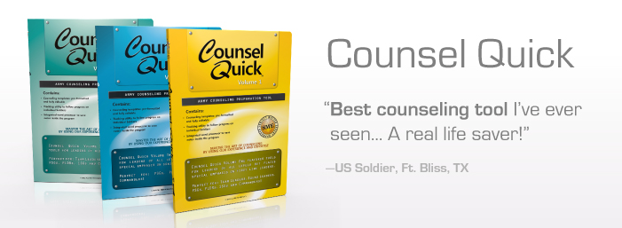 Counsel Quick - Army Counseling Prep Tool